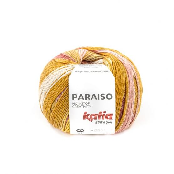Katia PARAISO 106 naranjas/rojizos/vis